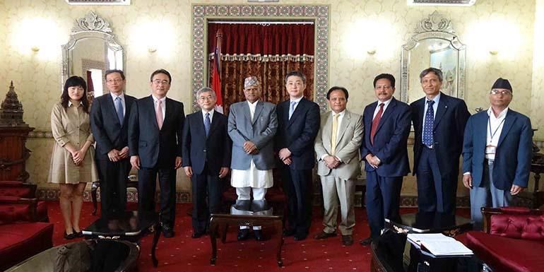The Rt Hon'ble President                       Dr. Ram Baran Yadav